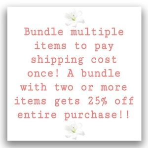 💖Bundle and Save! 💖